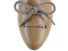 Lacci scarpe tondi in cotone beige da 120 cm df22131e8f6