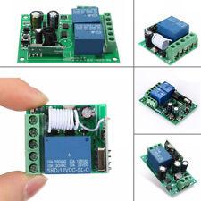 315/433MHz Relay Relè Modulo Telecomando Wireless Remoto Interruttore Control