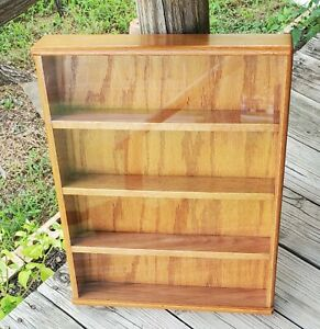 Handmade Wood Curio Cabinet