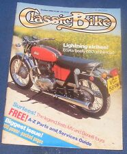 CLASSIC BIKE OCTOBER 1985 - LIGHTNING STRIKES!