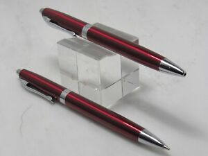 GORGEOUS HIGH QUALITY PIERRE CARDIN RED PEN AND PENCIL SET