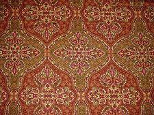Mill Creek Raymond Waites TASAR ADOBE Spice Green Home Decor Drapery Fabric BTY