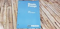 2000 Mazda Protege Factory OEM Wiring Diagram Workshop Service Repair Manual