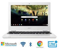 Acer Chromebook Laptop Intel 1.6 GHz 2 Memory 16 FHD Bluetooth Wifi HDMI Webcam