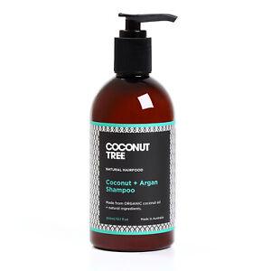 Organic Coconut and Argan Shampoo