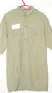 """BRITISH ARMY WOOL SHIRT POST WW2 RARE SIZE 42"""" CHEST MILITARY ISSUE SHIRTS HS19"""