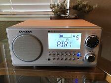 Sangean WR 2 FM RBDS AMWooden Cabinet Digital Tuning Receiver Walnut