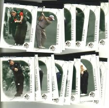 2001 UPPER DECK GOLF - SP AUTHENTIC PREVIEW SET - DALY/COUPLES/RODRIGUEZ