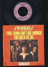 Sparks - This Town Ain't Big Enough For Both of Us - 7 Inch Single FRANCE