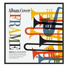 """12.5"""" Album Frame Display Album Covers and LP Covers Hanging Vinyl Record Frame"""