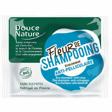Douce Nature - Fleur de shampoing Anti pelliculaire - Shampoing solide bio - 85g