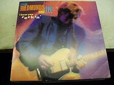 The Dave Edmunds Band-LIVE-I Hear You Rockin'-LP-OGSleeve-Columbia-C40603-VG++