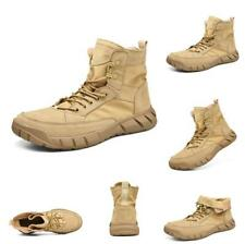 Men's Military Ankle Boot Tactical Desert Non-slip Combat Hiking Shoes Comfort