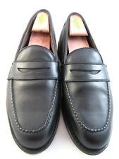 "NEW Allen Edmonds ""HOUSTON"" Travel Penny Loafers 10.5 D Black (350)"