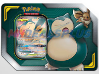 Pokemon TCG: Tag Team Tin Eevee & Snorlax GX - FAST SHIP!