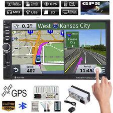 7inch 2 DIN HD Bluetooth Touch Car Stereo Radio MP3 MP5 Player GPS Nav USB/FM/TV