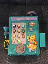 Tiger Electronics Disney Winnie The Pooh Replacement Country Phone  1997