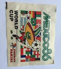 1 X PANINI ORIGINAL MEXICO 86 WORLD CUP 1986 SEALED STICKER PACKET
