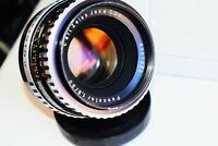 RARE Zebra Carl Zeiss Jena Pancolar Germany lens 50mm f/1.8 M42 mount EXC