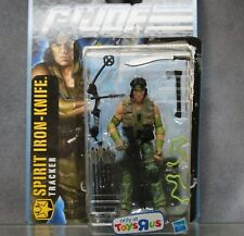 GI Joe Pursuit Of Cobra Spirit Iron Knife Action Figure 4in 2010 Toys R Us