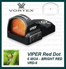 VORTEX OPTICS VIPER RED DOT 6 MOA BRIGHT RED - VRD-6 - Authorized Dealer