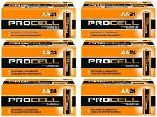 DURACELL PROCELL AA ALKALINE  BATTERIES 144 PACK, EXPIRES IN 2021, DURPC1500BKD