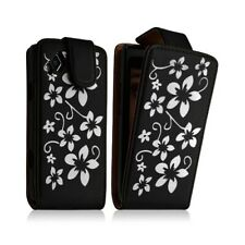 Case Cover Case Samsung Wave 2 S8530 Pattern Flower Black