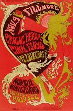 Incorniciato VINTAGE POSTER CONCERTO MUSICA – Pink Floyd (replica foto opera d'arte ART)