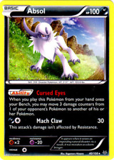 Pokemon Cards Absol Roaring Skies Holo Rare 40/108
