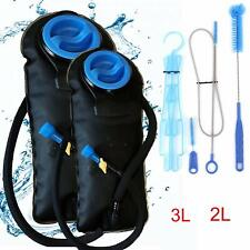Outfitter Warehouse 3L Water Bladder Hydration Pack w/ Cleaning Kit - 100oz