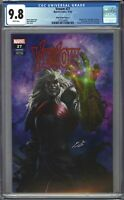 Venom #27 CGC 9.8 Skan TRADE 1st Appearance of CODEX Infinity Gauntlet HOMAGE