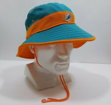 New Era Miami Dolphins NFL Training Bucket Hat With String OSFM