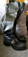 Cult Over the Knee Leather Boots Size11/41