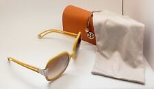 Tory Burch TY 9014 106213 Oversiz Gold Yellow Sqr Brown Grad Sunglasses RZ30A/19