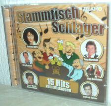 STAMMTISCH SCHLAGER - 15 Hits zum Mitsingen  (ANDREA BERG, JÖRG BAUSCH ua)