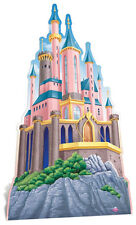 Disney Princess Castle HUGE CARDBOARD CUTOUT standee standup party decoration