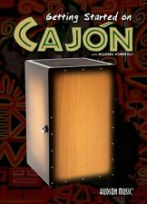 Getting Started On Cajon Learn to Play Drum Beginner Starter Lesson Music DVD