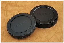 Lens Cap Set Micro 43 M4/3 Olympus Panasonic Body + Rear Cap EM5 EP3 EP5 GH2 GX7