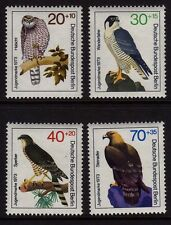 GERMANY MNH STAMP SET BUNDESPOST BERLIN 1973 BIRDS OF PREY  SG B430 - B433