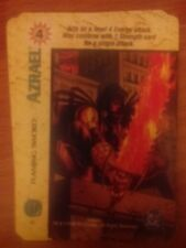 DC Overpower Azrael Flaming Sword NrMint-Mint Card