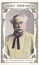 Chromo CHOCOLAT GUéRIN BOUTRON Alexandre Dumas fils n 292 /500