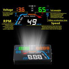 """Q700 Car HUD Head Up Display OBD II OBD2 Auto Gauge 5.5"""" Dash Screen Projector"""