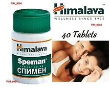 HIMALAYA SPEMAN 40 Tablets Increase Sperm Count Herbal Male Infertility