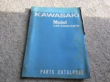 Kawasaki C2SS C2TR 120 Parts Catalogue # 6916