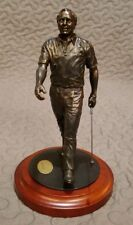 Danbury Mint Arnold Palmer Statue The Charge Cold Cast Golf Sculpture