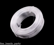 1roll 47meters 12gauge 2.0mm Aluminum Wrap Craft Wire Jewelry Making Silver