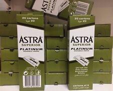 ASTRA LAME SUPERIOR PLATINUM DOUBLE EDGE 30 conf. da 100 lame