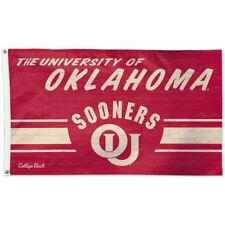 OU Sooners Throwback Vintage Large Outdoor Flag