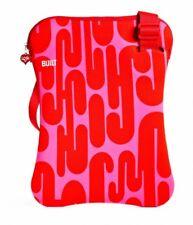 BUILT Girard 38,1 cm (15 pulgadas) Sling Laptop, Enero Red: funda de neopreno co
