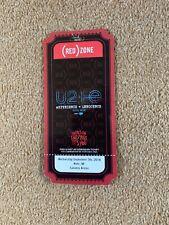U2 Ticket Stub KOLN Seot 9th 2918 Red Zone Ticket Experience And Innocence Tour